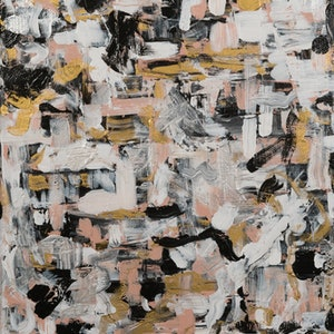 (CreativeWork) Little Chaos by Chloe Gaye Binen. arcylic-painting. Shop online at Bluethumb.