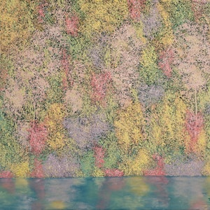 (CreativeWork) Autumnal Hues by Barry Johnson. arcylic-painting. Shop online at Bluethumb.