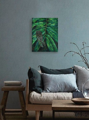 (CreativeWork) Black Prince by Katerina Apale. Oil. Shop online at Bluethumb.
