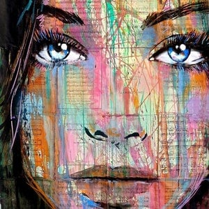 (CreativeWork) DEPARTURES by loui jover. mixed-media. Shop online at Bluethumb.