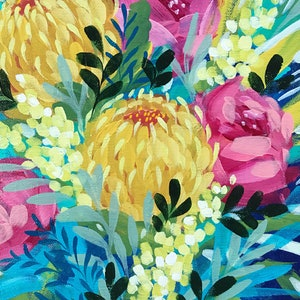 (CreativeWork) Limited Edition Print Summer Floral Ed. 3 of 20 by Clair Bremner. print. Shop online at Bluethumb.