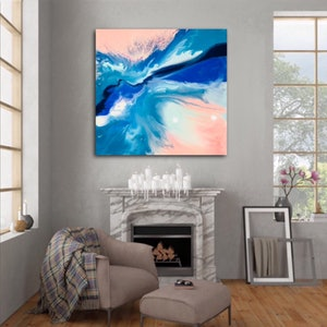 (CreativeWork) Harmony  by Michelle Chalmers. arcylic-painting. Shop online at Bluethumb.