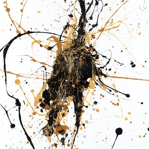 (CreativeWork) Abstract Anticipation by Ashvin Harrison. arcylic-painting. Shop online at Bluethumb.