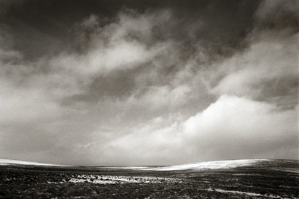 (CreativeWork) The moor, Dartmoor in winter, UK,  DM009 by Simon Greetham. photograph. Shop online at Bluethumb.