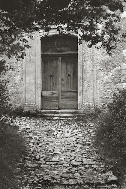 (CreativeWork) Vieux Oppedé, Provence, France, PR006 by Simon Greetham. photograph. Shop online at Bluethumb.