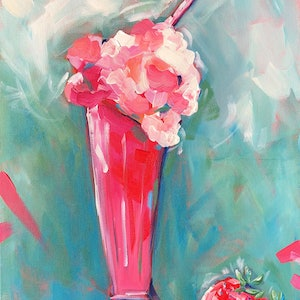 (CreativeWork) Shake It Up - Milkshake by Jen Shewring. #<Filter:0x000055a2aaa0c5d8>. Shop online at Bluethumb.