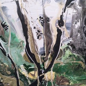 (CreativeWork) Fangorn Forest by William Holt. arcylic-painting. Shop online at Bluethumb.