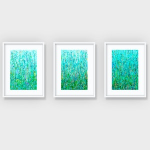 (CreativeWork) 'The Three Gardens'  Limited Edition Print Set of 3  Ed. 7 of 25 by George Hall. print. Shop online at Bluethumb.