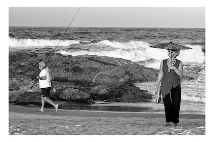 (CreativeWork) P 052 Going Fishing no matter what  by Peter Henning. photograph. Shop online at Bluethumb.