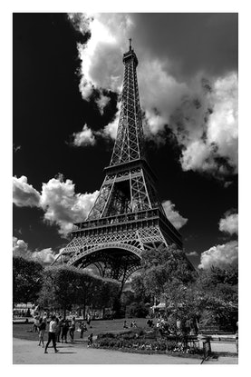 (CreativeWork) P 053 Paris Eiffel Tower Ed. 2 of 70 by Peter Henning. Photograph. Shop online at Bluethumb.