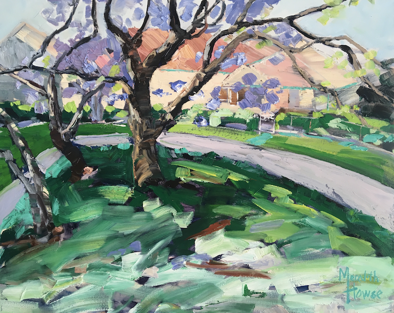 (CreativeWork) Monday on Mareeba  by Meredith Howse. oil-painting. Shop online at Bluethumb.
