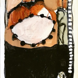 (CreativeWork) Elements of design #4 by Susan Davies. arcylic-painting. Shop online at Bluethumb.