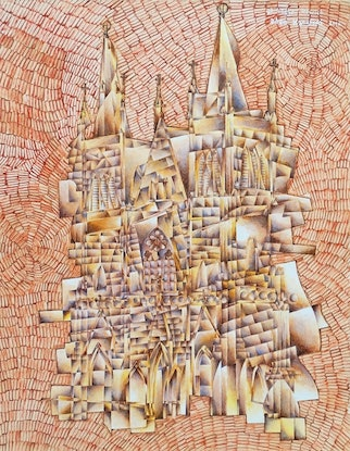 (CreativeWork) st mary's church, Ipswich, 2010 by Adam Kanofski. Other Media. Shop online at Bluethumb.