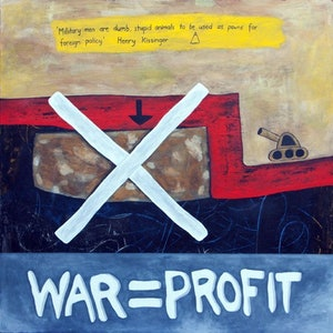 (CreativeWork) The truth hurts by Angony Art. acrylic-painting. Shop online at Bluethumb.