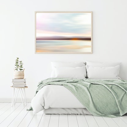 (CreativeWork) Merimbula Bar in Pastel by Sophie Rogers. Photograph. Shop online at Bluethumb.
