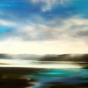 (CreativeWork) Vitality Reinstated  -  LARGE 205cm x 156cm  by Alice Howell. oil-painting. Shop online at Bluethumb.