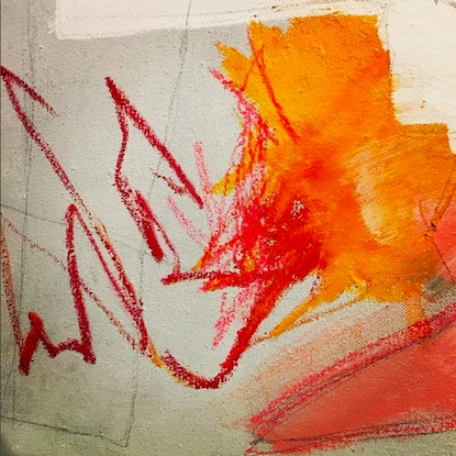 (CreativeWork) Vision 3 by Chalom (Mike Lane). Mixed Media. Shop online at Bluethumb.