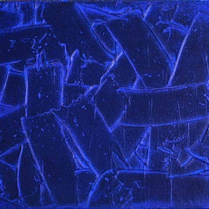 (CreativeWork) OBJECT 002 - BLUE by Jonathon Telcher. arcylic-painting. Shop online at Bluethumb.
