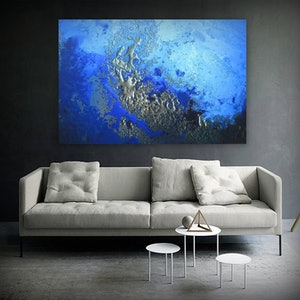 "(CreativeWork) Canvas Print ""Winter Waters"" Ed. 2 of 25 by Petra Meikle de Vlas. print. Shop online at Bluethumb."