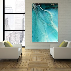 (CreativeWork) Rise Above Inlet 2. Ocean Inspired Artwork. ACRYLIC Limited Edition Print | Antuanelle Ed. 1 of 25 by MARIE ANTUANELLE. print. Shop online at Bluethumb.