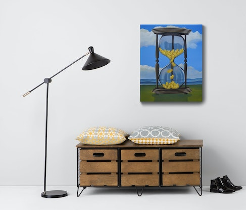 (CreativeWork) Days Of Our Lives by Tank .. Acrylic. Shop online at Bluethumb.