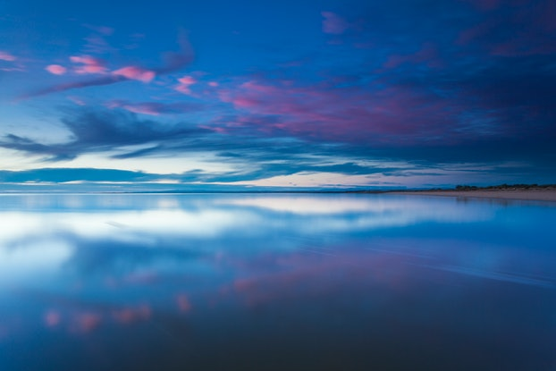 (CreativeWork) Westernport twilight Ed. 1 of 6 by Piers Buxton. Photograph. Shop online at Bluethumb.