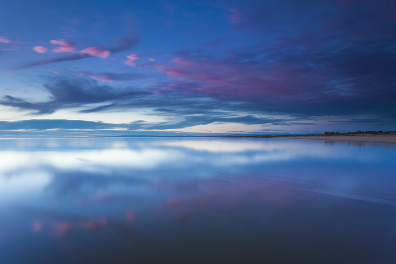 (CreativeWork) Westernport twilight by Piers Buxton. photograph. Shop online at Bluethumb.