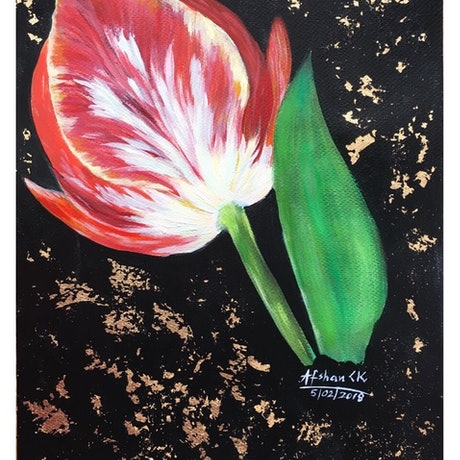 (CreativeWork) 'Shining' by Afshan C.Koya. Acrylic Paint. Shop online at Bluethumb.