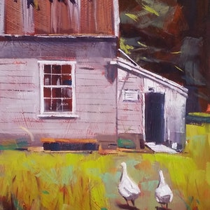 (CreativeWork) Sunday Morning - THIS PAINTING HAS BEEN SOLD by John Pearson. oil-painting. Shop online at Bluethumb.