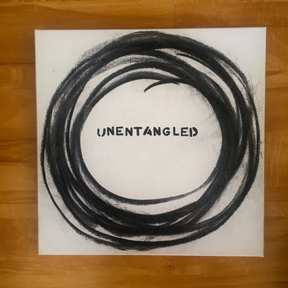(CreativeWork) unentangled by Kitty Berton. Mixed Media. Shop online at Bluethumb.