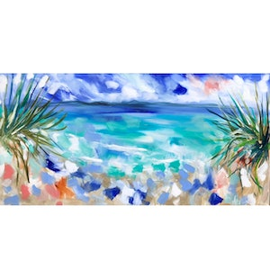 (CreativeWork) laguna paradise  by Amanda Brooks. arcylic-painting. Shop online at Bluethumb.
