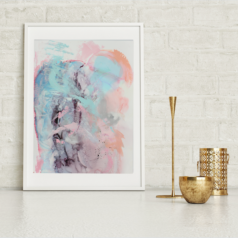 (CreativeWork) Reflection II  by Michelle Drougas. Mixed Media. Shop online at Bluethumb.