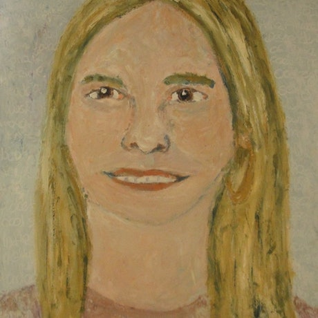 "(CreativeWork) ""Kerri"" (mfl 188 of 230) by elij foote. Oil Paint. Shop online at Bluethumb."