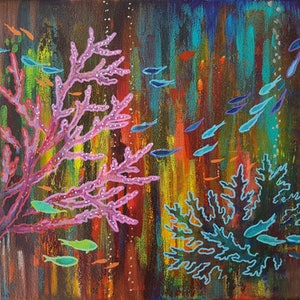 (CreativeWork) Aurora by Eugene Rubuls. oil-painting. Shop online at Bluethumb.