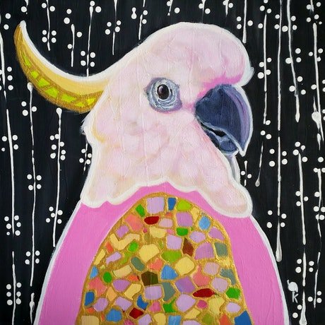 (CreativeWork) She-General - AUSTRALIANA - ANIMALS by Olga Kolesnik. Acrylic Paint. Shop online at Bluethumb.