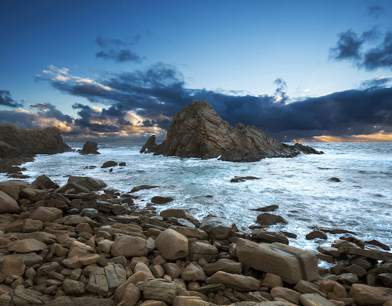 (CreativeWork) Sugarloaf Rock ii by Piers Buxton. photograph. Shop online at Bluethumb.