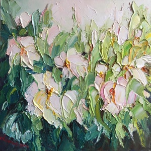 (CreativeWork) Spring delight #2 by Liliana Gigovic. oil-painting. Shop online at Bluethumb.