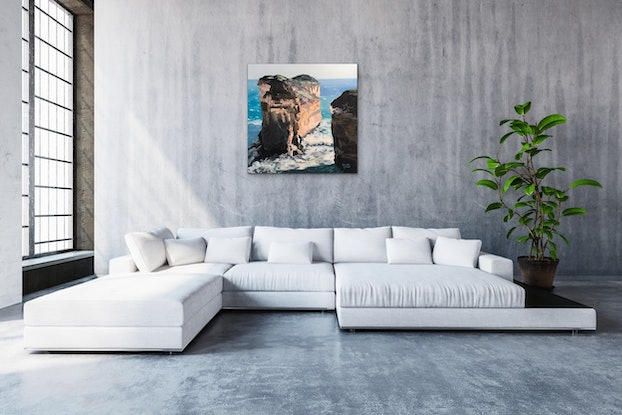 (CreativeWork) Pure Australia 9 by Meredith Howse. Oil Paint. Shop online at Bluethumb.