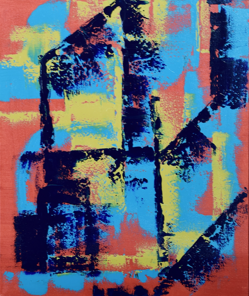 (CreativeWork) Structure and Form by Ric Connors. arcylic-painting. Shop online at Bluethumb.