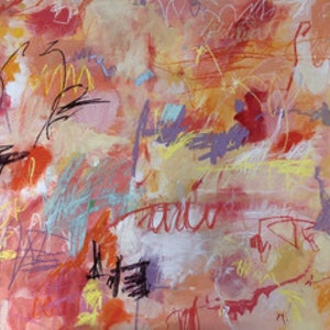 (CreativeWork) SUNSET IN AUSTRALIA by Sonia Dickson. mixed-media. Shop online at Bluethumb.