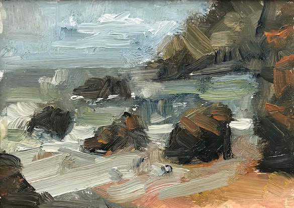 (CreativeWork) Camel Rocks 2 by James Needham. Oil Paint. Shop online at Bluethumb.