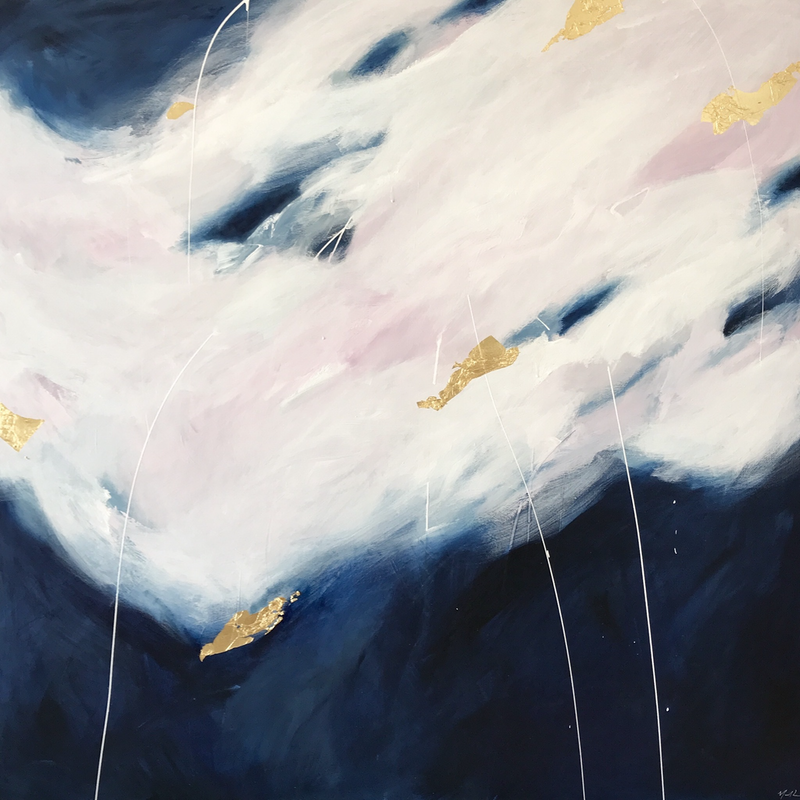 (CreativeWork) Crescendo  by Marnie McKnight. arcylic-painting. Shop online at Bluethumb.