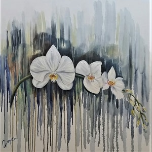 (CreativeWork) 'Serenity' by Susan Capan. oil-painting. Shop online at Bluethumb.