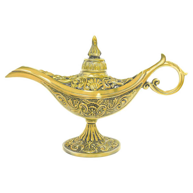 (CreativeWork) Genie Lamp  by Tamara Michael. Drawings. Shop online at Bluethumb.
