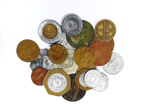 (CreativeWork) Foreign Exchange by Tamara Michael. Drawings. Shop online at Bluethumb.