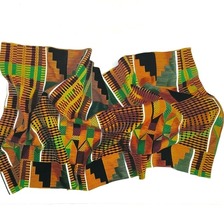 (CreativeWork) Kente Cloth by Tamara Michael. Drawings. Shop online at Bluethumb.