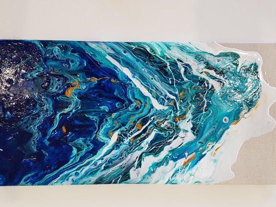 (CreativeWork) Tidal by Tracey Dawes. Other Media. Shop online at Bluethumb.