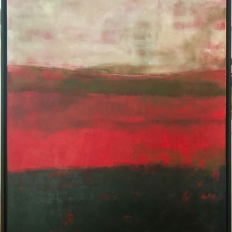 (CreativeWork) 'ARIOSO' by LOUISE GROVE WIECHERS. Acrylic Paint. Shop online at Bluethumb.