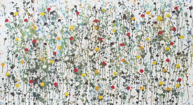 (CreativeWork) In The Fields by Peter Bastaja. Acrylic Paint. Shop online at Bluethumb.