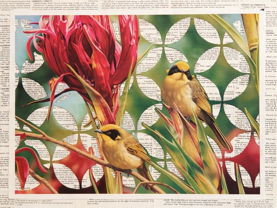 (CreativeWork) Flora and Fauna (January) by Sherry McCourt. Other Media. Shop online at Bluethumb.